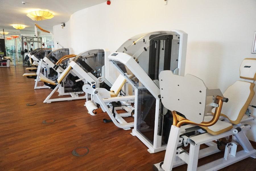 X-Force Trainingsgeräte im intenso Darmstadt