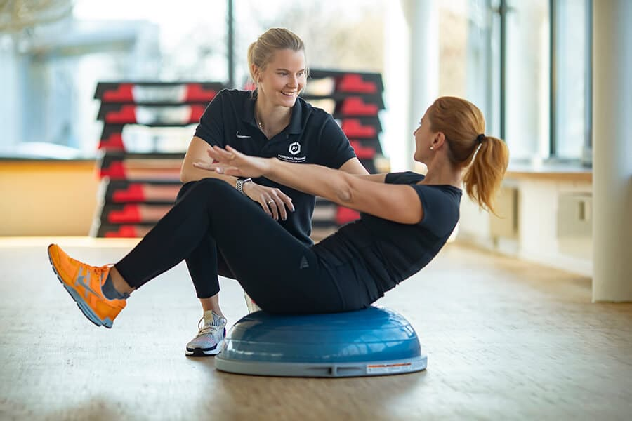 Trainingsbetreuung intenso Medical Fitness Darmstadt