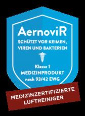 Medizinzertifizierter Luftreiniger im intenso Ostbahnhof Darmstadt