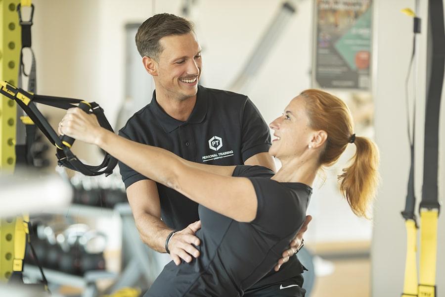 Personal Training und persönliche Betreuung im intenso Medical Fitness Darmstadt